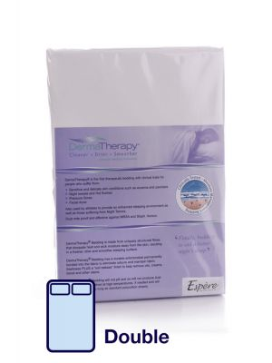 DermaTherapy Fitted Sheet - Double