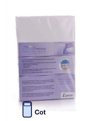 DermaTherapy Flat Sheet - Cot