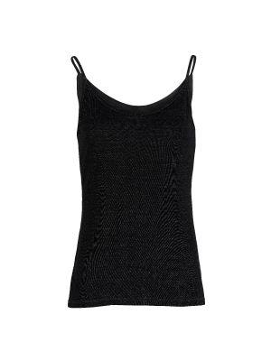 DermaSilk Ladies Black Vest