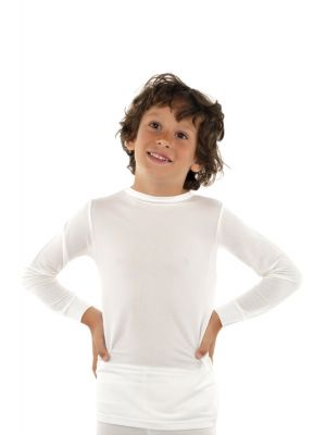 DermaSilk Child Round Neck Long Sleeve Top