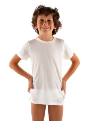 DermaSilk Child Short Sleeve Top