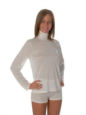 DermaSilk Unisex Long Sleeve Roll Neck Shirt