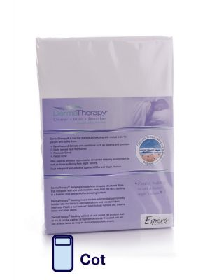 DermaTherapy Fitted Sheet - Cot