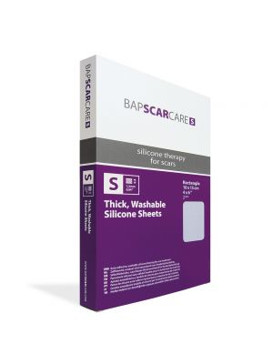 BAPScarCare S Rectangular Washable Scar Dressing 15x10cm x2