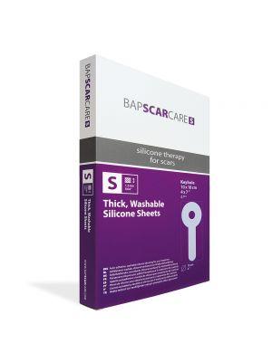 BAPScarCare S Keyhole Washable Scar Dressing