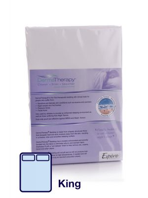 DermaTherapy Fitted Sheet - King