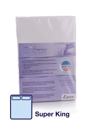 DermaTherapy Fitted Sheet - Super-King